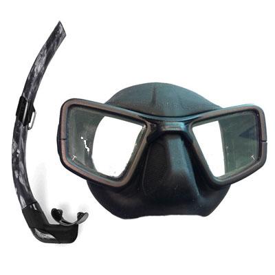 Masque Tuba de chasse OMER