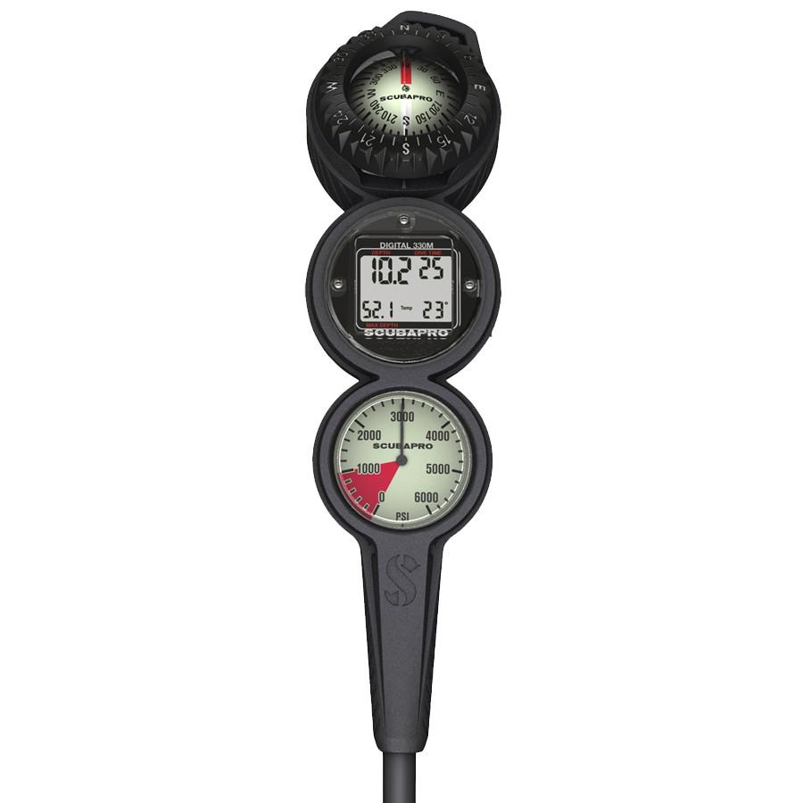 Console en Ligne DIGITALE SCUBAPRO 3 Instruments