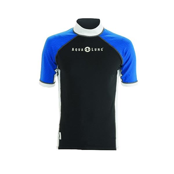 Lycra RashGuard ATHLETIC FIT AQUALUNG Homme manches courtes