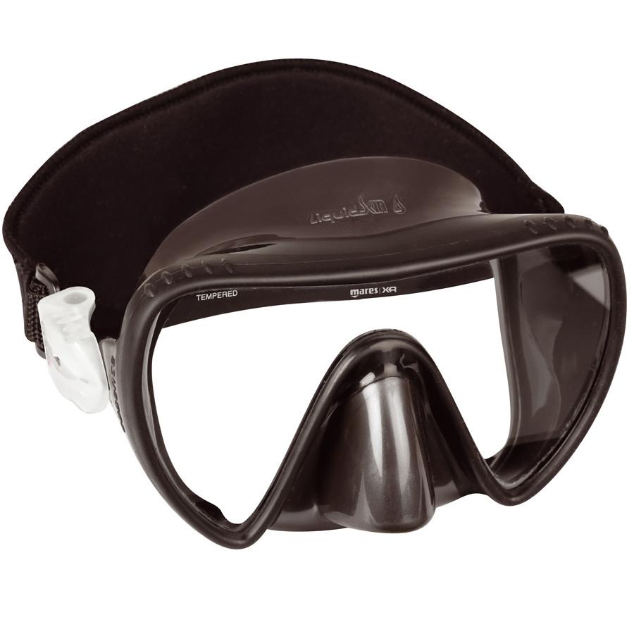 Masque ESSENCE Liquidskin MARES XR Noir