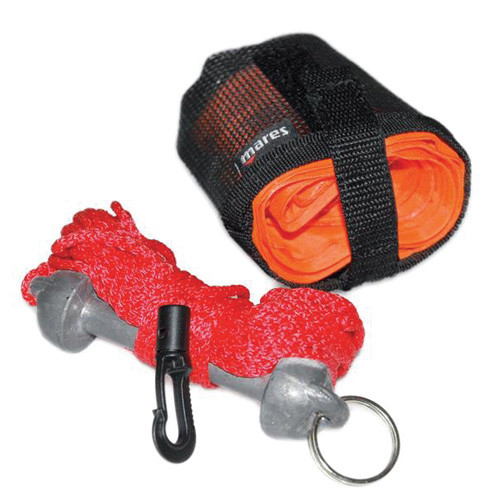 Parachute compact + Sac + Corde + Plomb MARES
