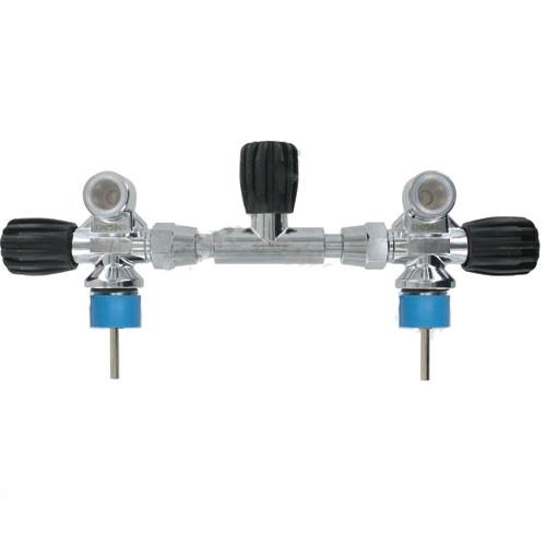 Robinet AIR APEKS M25x200 pour Bi 2x10 et 2x12 Litres long Avec Isolateur