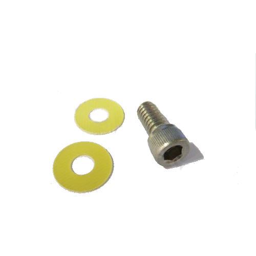 Vis INOX 1/4P PAS KODAC + 2 Rondelles pour fixation Caisson ou Tripod