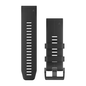 Bracelet Silicone QuickFit GARMIN Noir