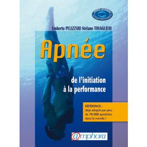 Livre Apnée : de l'initiation à la performance AMPHORA
