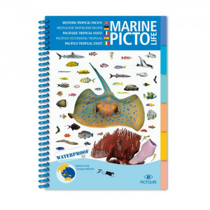 Guide d'identification 58 pages immergeable PACIFIQUE TROPICAL OUEST PICTOLIFE