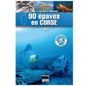 Livre 90 EPAVES EN CORSE