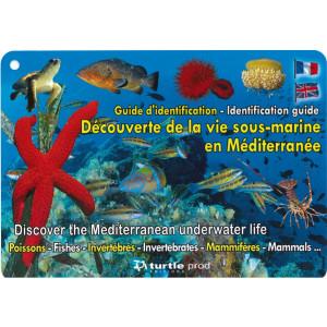 Guide d'identification Découverte de la vie sous-marine en Méditerranée en 8 plaquettes GAP EDITIONS