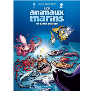 Livre BD Les Animaux Marins Tome 6 BAMBOO EDITIONS