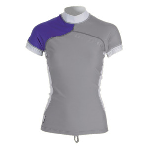Lycra RashGuard ATHLETIC FIT AQUALUNG Dame manches courtes