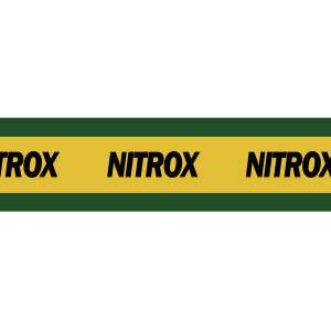 Autocollant NITROX 15x67cm