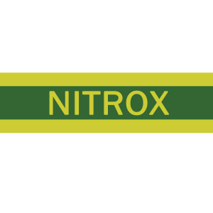 Autocollant NITROX 60x15cm