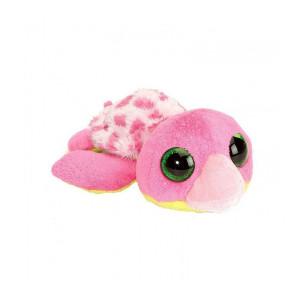 Peluche Bébé tortue rose 13cm