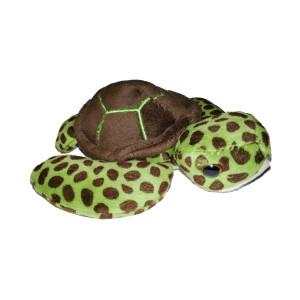 Peluche Bébé tortue verte 15cm