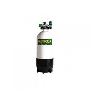Bouteille 15 Litres ROTH NITROX 2 Sorties