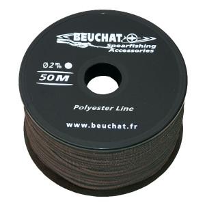 Bobine fil BEUCHAT POLYESTER 50m / 2mm