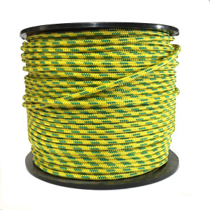 Corde Polyester Jaune pour parachute PALANQUEE