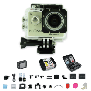 Pack complet Camera BECAM 4K BEST DIVERS 16MPx