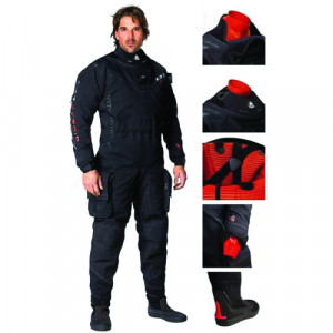 Combinaison D1 HYBRID ISS WATERPROOF Homme