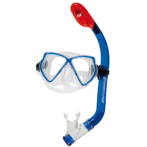 Pack Masque et Tuba CURRENTS SCUBAPRO Bleu Adulte