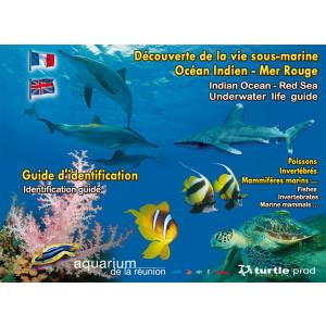 Guide d'identification Océan Indien Mer Rouge en 11 plaquettes GAP EDITIONS