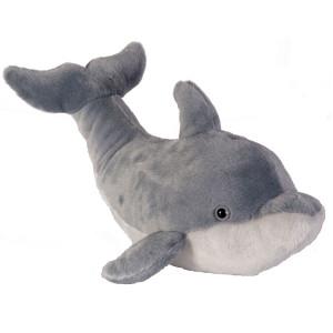 Peluche Dauphin gris 15cm