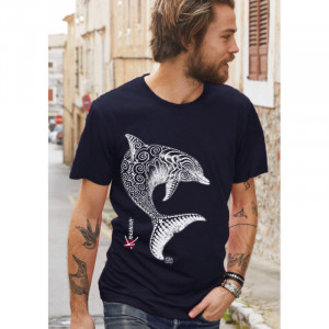 T-Shirt KANUMERA Le Dauphin Tatoo