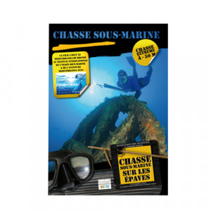 Film DVD Chasse sous-marine sur les épaves