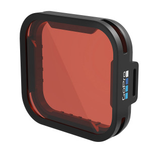 Filtre Rouge GOPRO pour GoPro Hero 5 caisson 60m