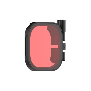 Filtre Rouge PolarPro pour GoPro Hero, Hero 8 caisson 60m