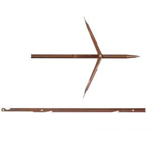 Flèche DEVOTO ∅7mm Double ardillons à Encoche