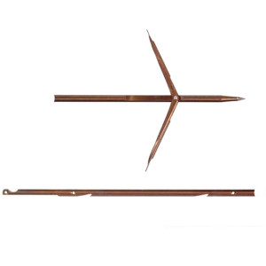 Flèche DEVOTO ∅6.5mm Doubles ardillons à Encoche