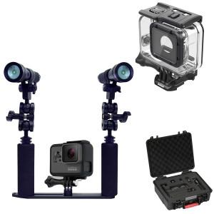 Pack Caméra Gopro HERO 5 Complet + AL1800XWP