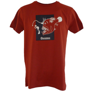 T-Shirt JAW NARKOZ Rouge