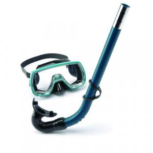 Kit Masque + Tuba OCEAN Junior SOMMAP Vert