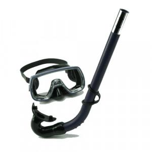 Kit Masque + Tuba OCEAN Junior SOMMAP Noir
