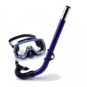 Kit Masque + Tuba OCEAN Junior SOMMAP Bleu