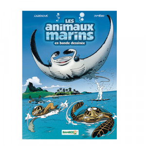 Livre BD Les Animaux Marins Tome 3 BAMBOO EDITION