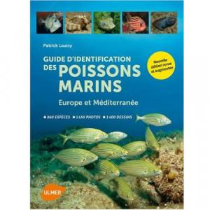 Livre Guide d'identification-poissons marins Europe & Médi ULMER