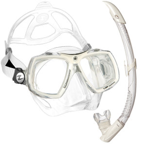 Kit LOOK 2 WHITE ARCTIC AQUALUNG