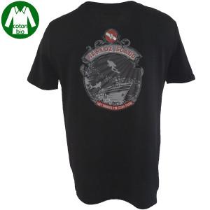T-Shirt LOST PARADISE NARKOZ Noir