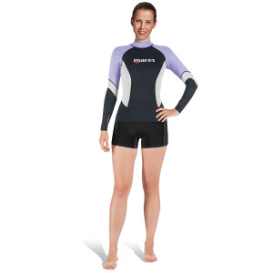 Lycra RASHGUARD MARES UPF 80 Manches Longues Dame Lilas