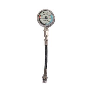 Manomètre SPG52 MARES XR Miflex Oxygène 15 cm