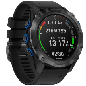 Ordinateur DESCENT MK2i GARMIN Titane Carbone