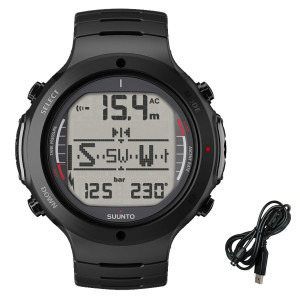 Ordinateur D6i SUUNTO All Black Métal