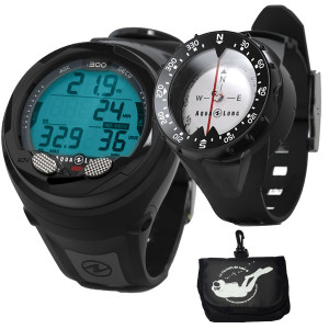 Ordinateur i300 AQUALUNG + Compas Bracelet