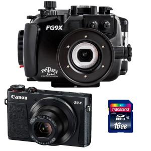 Pack Caisson FANTASEA + Appareil CANON G9X