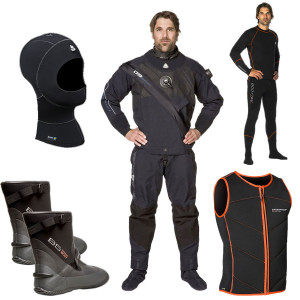 Pack Combinaison D9 BREATHABLE WATERPROOF Homme COMPLET