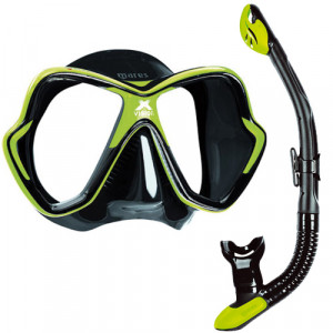 Pack Masque X Vision + Tuba Ergo Dry MARES