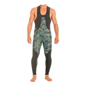 Pantalon MUNDIAL CAMO GREEN BEUCHAT 5mm T4